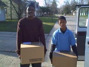 Christian volunteers