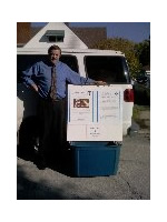 Christ Cares has Ministry Boxes available to place donations to help urban youth.