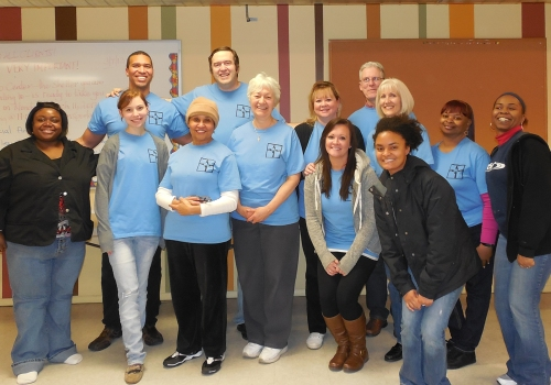 Christ Cares Volunteer Team & two RCM staff