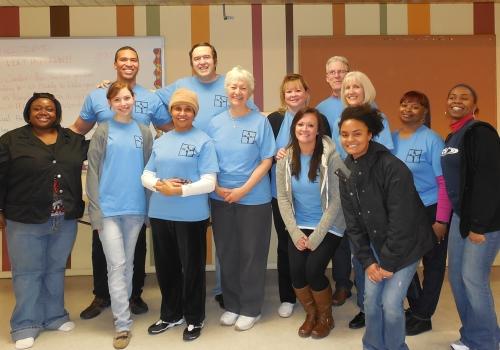 Christ Cares Volunteer Team & two RCM staff